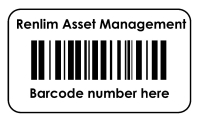 Asset Management Labels